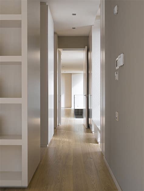 hardwood flooring home hallway contemporary home in monasterios spain