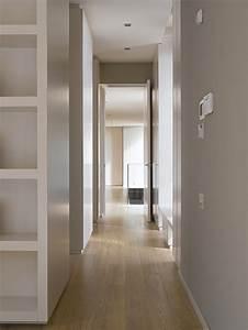 Hallway, Contemporary Home in Monasterios, Spain