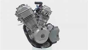 Used Engine Honda Xl 650 V Transalp Xl650v Rd10 Rd11 2003-08 100532
