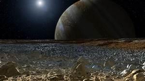 NASA Maps Goals for Potential Landing On Jupiter's Moon Europa