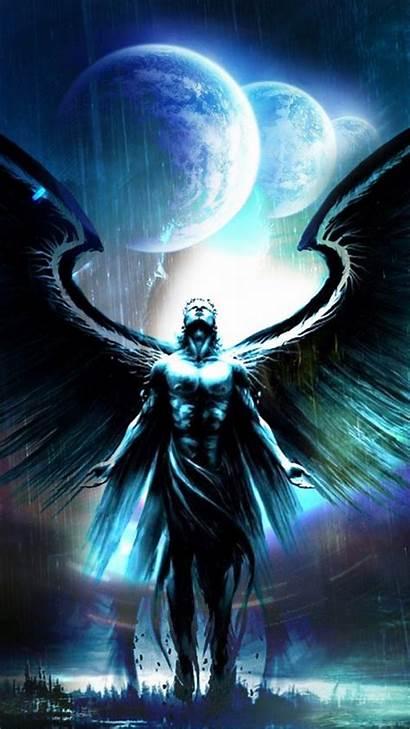 Angel Dark Android Gabriel Wallpapers Resolution Wolf
