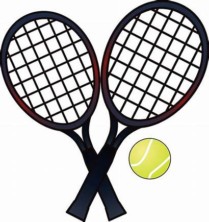 Tennis Clipart Ball Rackets Racket Clip Pinclipart