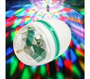 Ampoule Jeu De Lumiere : ampoule rgb lampe led 3w e27 jeu tournant de lumi re ~ Dailycaller-alerts.com Idées de Décoration