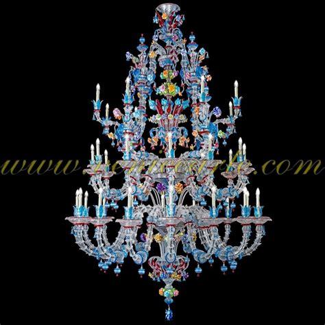 Murano Glas Leuchter by Strauss Murano Glas Kronleuchter