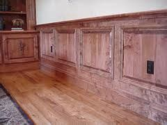 Wainscot Flooring by What To Do With Oak Wainscot In Family Room