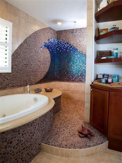 ocean themed bathroom  love    outdoor