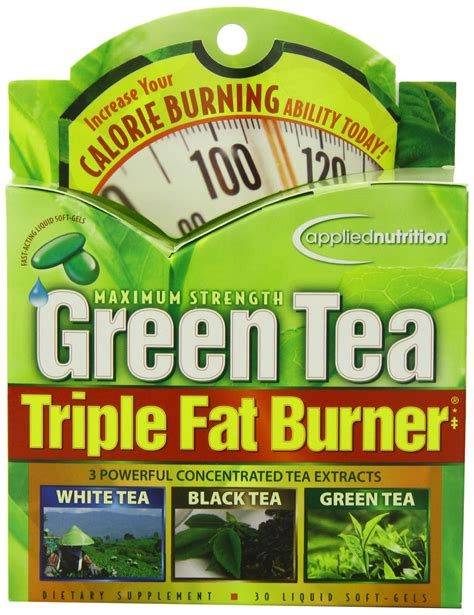 Amazon.com: Applied Nutrition Green Tea Fat Burner