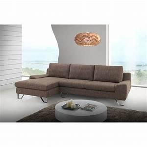 Canape Angle Marron : canap trendy marron angle gauche ~ Teatrodelosmanantiales.com Idées de Décoration