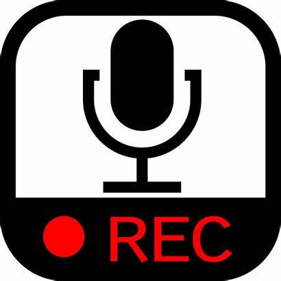 Recorder Clipart Audio Sound Voice Icon Effects