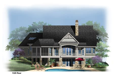 Home Designs: Enchanting House Plans With Walkout