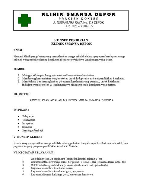 01 Contoh Proposal Pendirian Klinik
