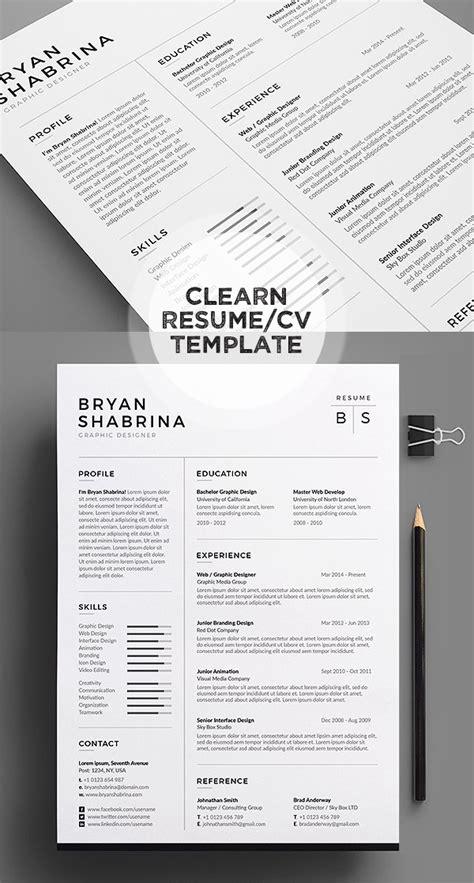Top 50 Resume Designs by 50 Best Minimal Resume Templates Idevie
