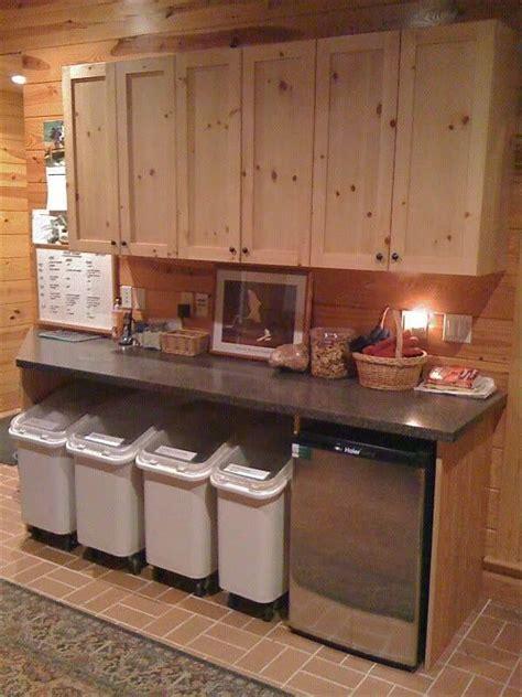 Dream organization for whelping/food prep area!   Kennel