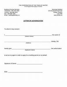 17  Authorization Letter Templates In Google Docs