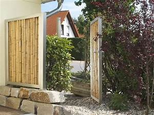 Rhizomsperre Selber Bauen : gartentor aus edelstahl oder cortenstahl kaufen bambusb rse ~ A.2002-acura-tl-radio.info Haus und Dekorationen