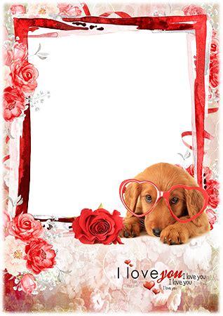 photo frames  love    photo frame   cute dog