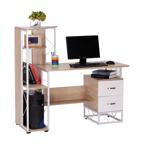 but informatique pc bureau homcom bureau pour ordinateur table meuble pc informatique