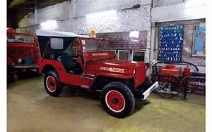 Cote Vehicule Ancien : des anciens v hicules de pompiers mis en vente aux ench res jeep willys 1946 l 39 argus ~ Gottalentnigeria.com Avis de Voitures