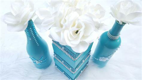 dollar tree diy wedding centerpiece tiffany blue bridal