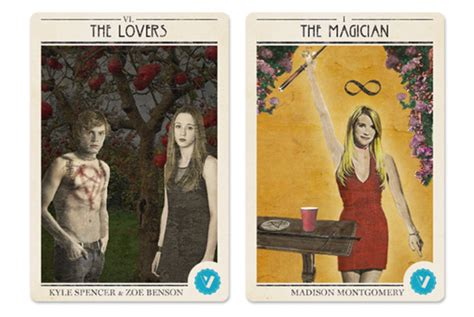 We Made American Horror Story Coven Tarot Cards Vulture