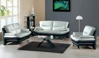 modern livingroom sets awesome modern leather sofa set black grey