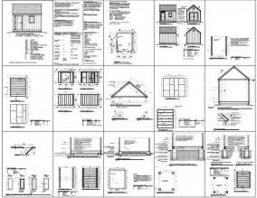 10x12 shed plans pdf how to build amazing diy outdoor