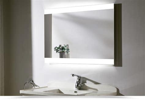 specchi arredo design specchio led bagno rettangolare70x90 cm reversibile arredo
