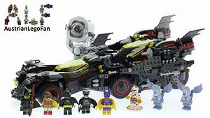 Lego Batman Batmobile : lego batman movie 70917 the ultimate batmobile lego speed build review youtube ~ Nature-et-papiers.com Idées de Décoration