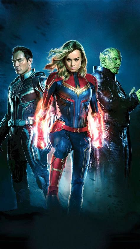 Grace your desktop with these cool hd wallpapers. Captain Marvel (2019) Phone Wallpaper | Marvel comics, Marvel vingadores, Heróis marvel