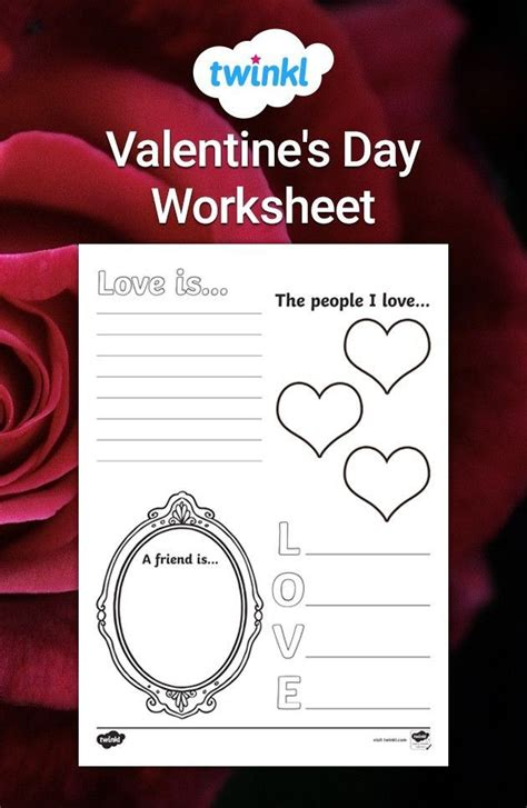 valentines day themed teaching resources