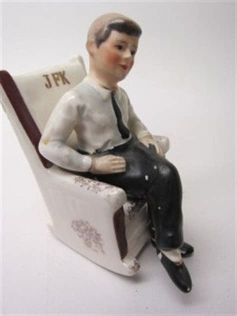 Jfk Rocking Chair Salt And Pepper Shakers by Salt Pepper Shakers S P Kennedy Jfk 1962 Rocking Chair