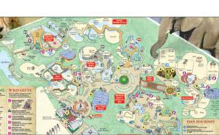 Tampa Lowry Park Zoo Map