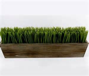 artificial grass centerpiece