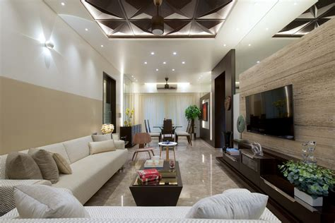 3 Bhk Apartment Interiors At Yari Road  Amit Shastri