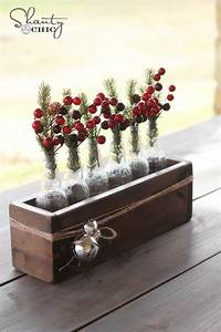 Christmas, Centerpiece, -, Soda, Bottle, Crate