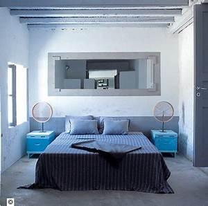 Gris Et Bleu : 16 d co de chambre grise pour une ambiance zen deco cool ~ Dode.kayakingforconservation.com Idées de Décoration