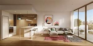 Meuble separation cuisine salon en plus de 55 idees for Idee deco cuisine avec meuble salle a manger et salon