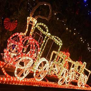 Holiday Time Rope Lights Outdoor Animated Rope Light Train Motif Light 3d Christmas