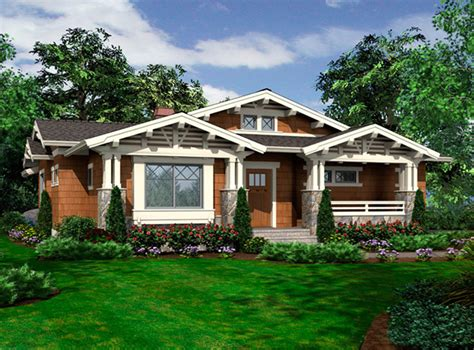 vaulted  story bungalow jd architectural designs house plans
