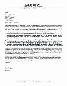 finance job cover letter sample With sample cover letters for finance jobs