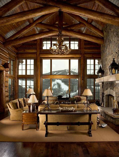 great home interiors marvelous lodge cabin home decor decorating ideas images