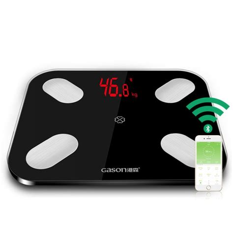 gason  led bathroom digital fat body scale gearvita