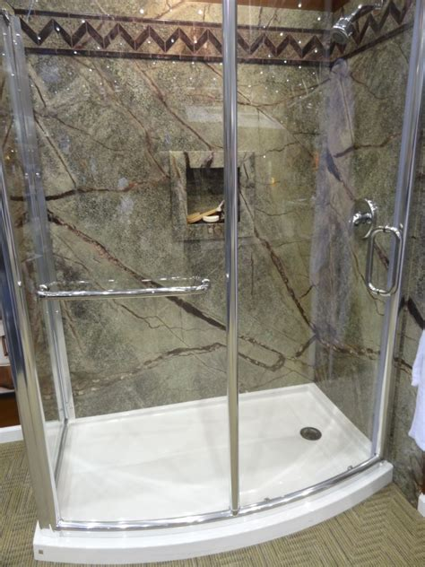 shower surrounds low maintenance shower innovate building solutions