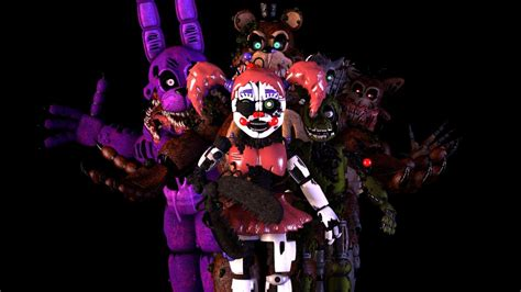 [sfm Fnaf 6] Characters (maybe We Dont Know) By