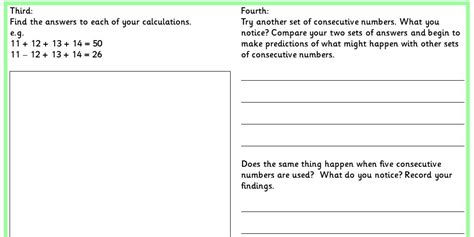 maths investigations ks2 homework investigate using
