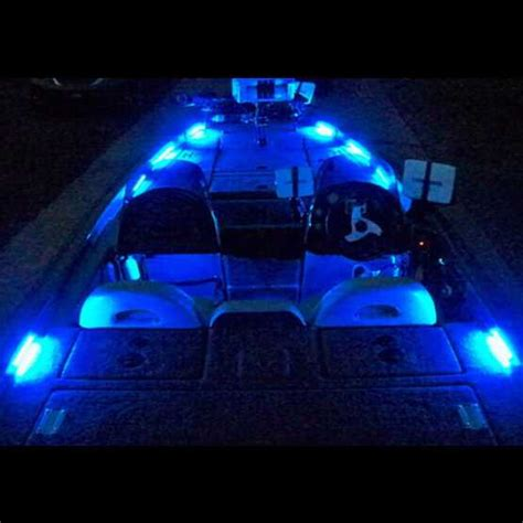 Deck Boat Lights boat led deck lights rockwood led bass boat lighting systems