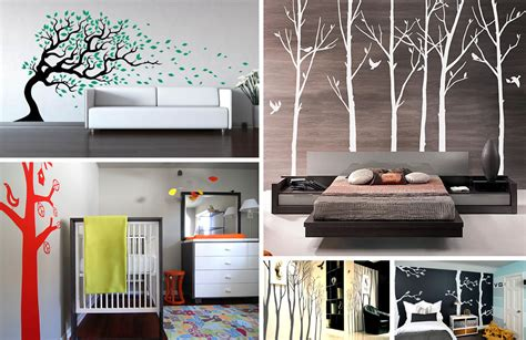tree wall decals add style sophistication   home