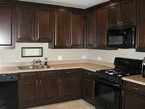 staining oak cabinets dark cherry savaeorg With kitchen colors with white cabinets with metal wall art com coupon code