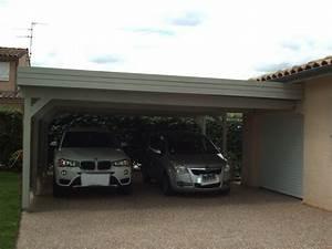 Carport 2 Voitures Alu : carports bois garages bois personnalis s au sur mesure ~ Medecine-chirurgie-esthetiques.com Avis de Voitures
