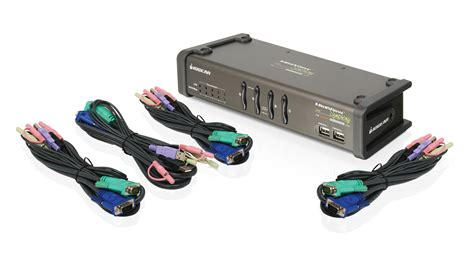3 Kvm Switch by Iogear Gcs1774 Miniview Symphony Multi Function 4
